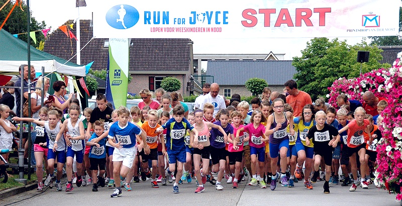 PERSBERICHT Run for Joyce 2014