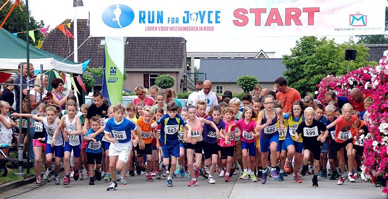 PERSBERICHT Run for Joyce 2014